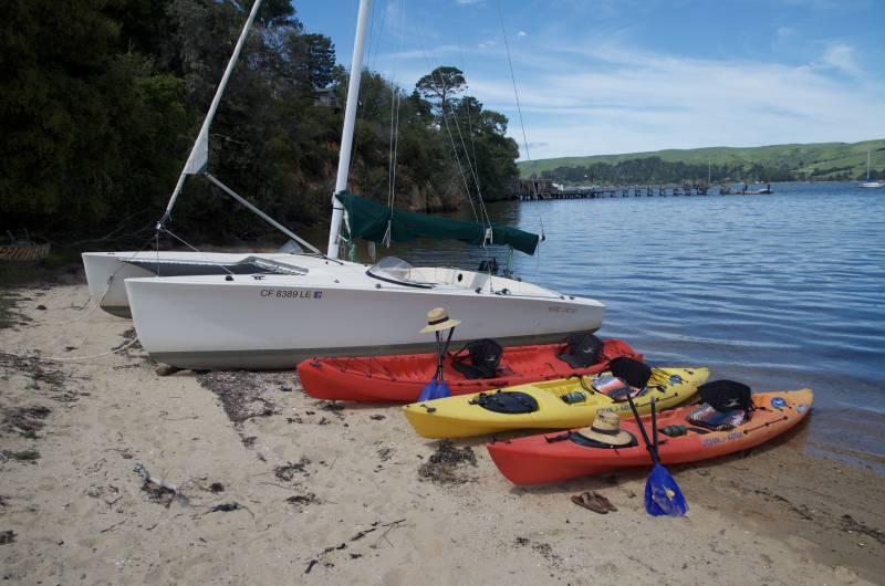 kayak trip point reyes