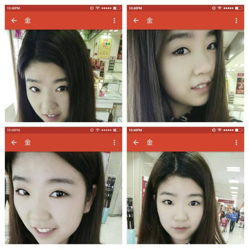 Hva med fire bilder med samme bakgrunn og nesten helt like...