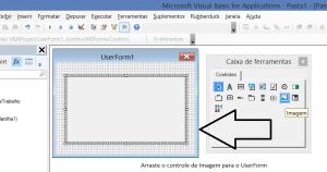 Insira um controle de imagem no UserForm