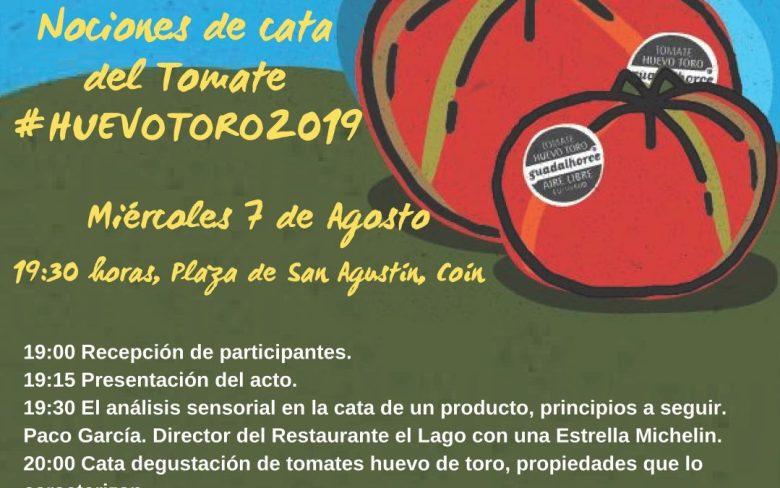 Nociones de cata del tomate Huevo Toro 219