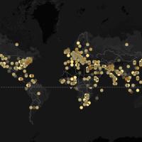 "Flashing Lights: a screenshot of impending doom or liberation? (""Foreign Policy""/John Beieler/Google Maps/CartoDB)"