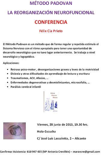 Conferencia Método Padovan