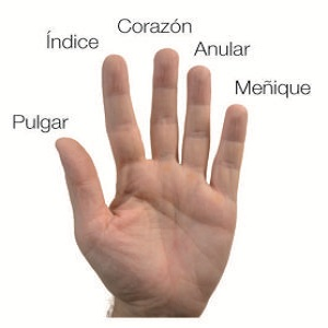 ardor entre los dedos delas manos