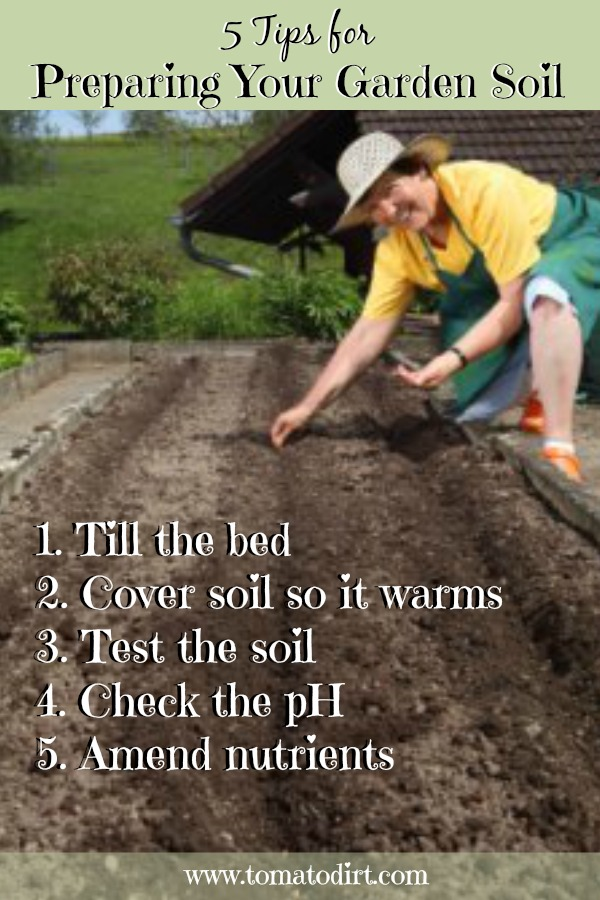 Preparing Your Soil For Planting Tomatoes In The Home Garden