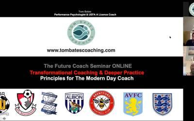 The Future Coach Virtual Seminar Sept 2020 – Success!