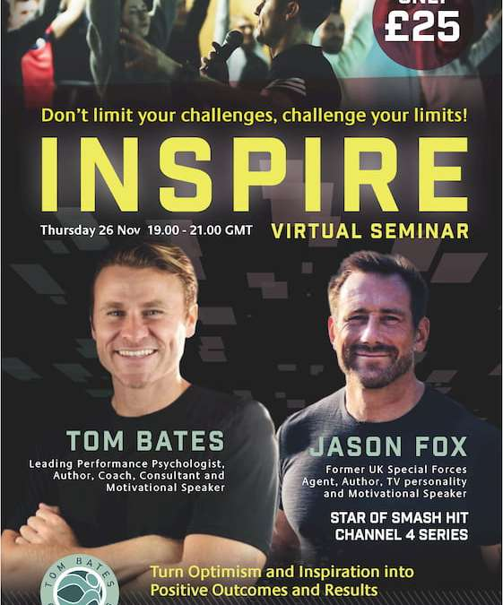 The INSPIRE Virtual Seminar With Tom Bates and Jason Fox