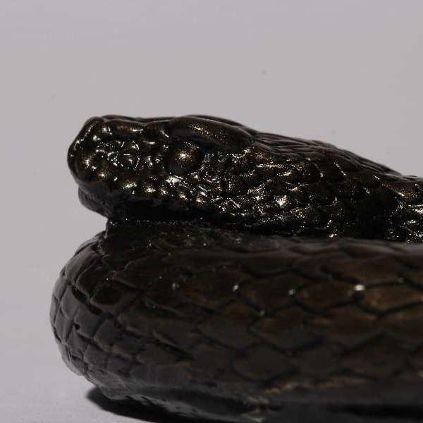 snake sculpture