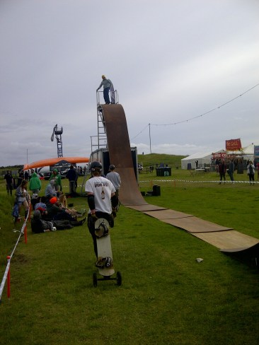 MBS Demo ramp - final show of the day