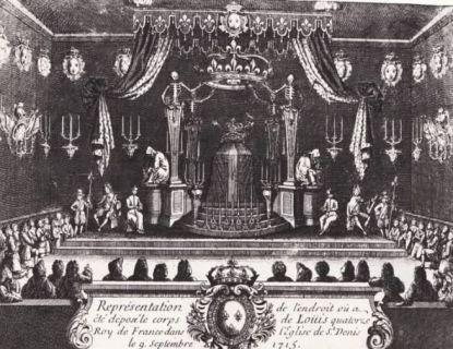 LOUIS XIV Tombes Spultures Dans Les Cimetires Et