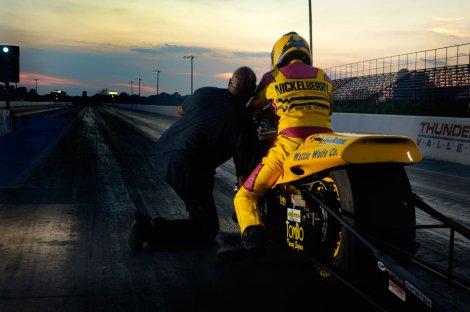 Glen Nickleberry at Thunder Valley Raceway