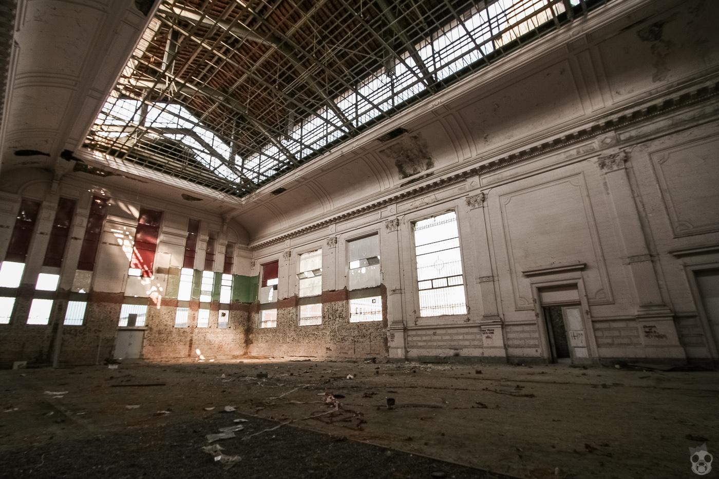 Brussels Cargo Train Station  ブリュッセル貨物駅