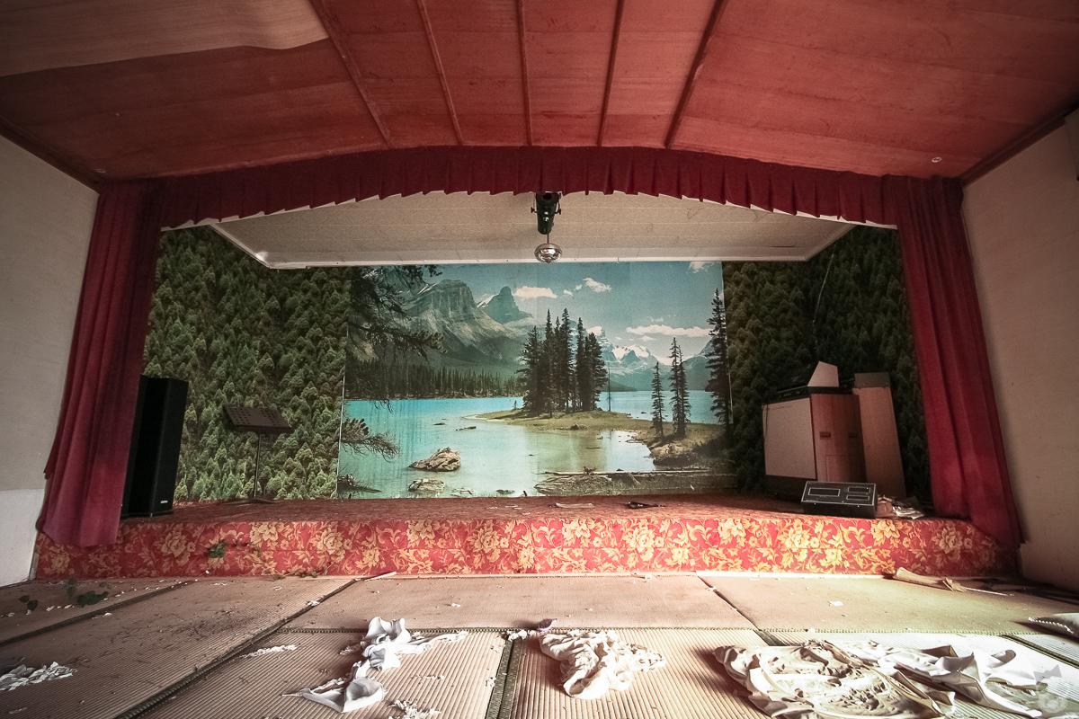 Abandoned Inn とらや旅館 岡山の廃墟