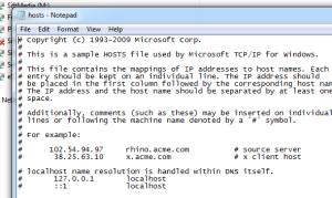 Editing a Windows 7/Windows 10 Hosts File – tombullock co uk