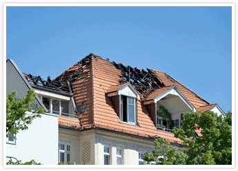 Fire Damage Emergency Roofing Service in Orange County with Tom Byer