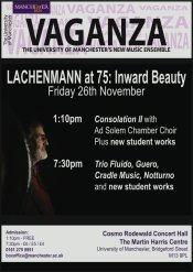 Vaganza - Lachenmann at 75