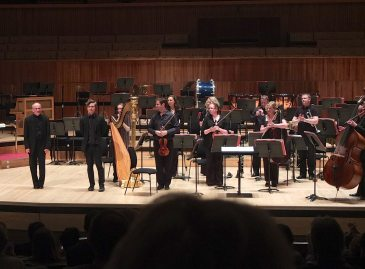 Taking a bow at the Philharmonia's premiere of 'Four Perpetual Motions', Royal Festival Hall, London, July 2013