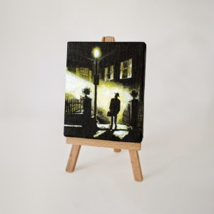 The Exorcist Miniature Painting by Tom Deacon