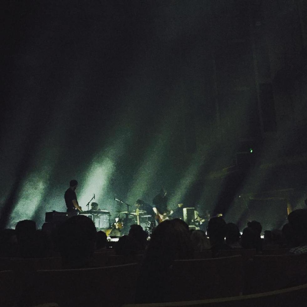 Explosions in the Sky at QPAC Concert Hall 2017. Photo credit: Instagram (@amymlee2)