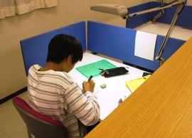 東明寮 学習室