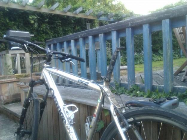 Seat-less bike!