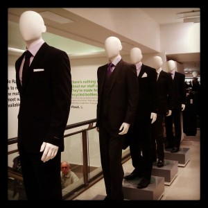 Dummies in suits...