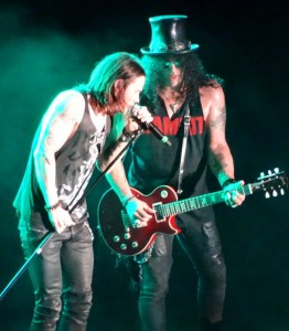 Slash And Myles Rock!