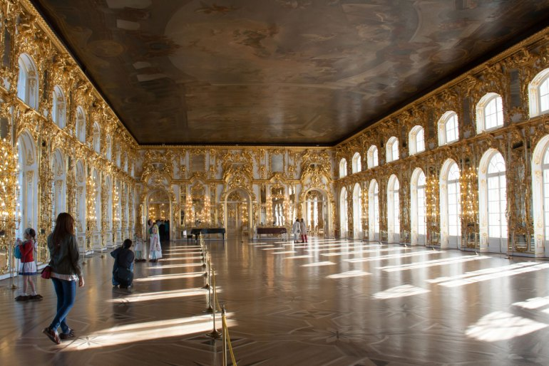Interior of the Catherine Palace