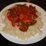 Piri Piri Stir-Fry Veg Beef