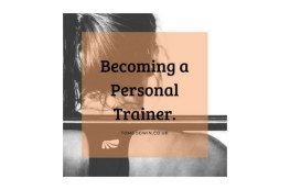 Becoming a personal trainer
