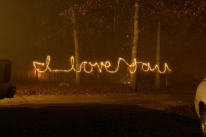 A Flaming I Love You