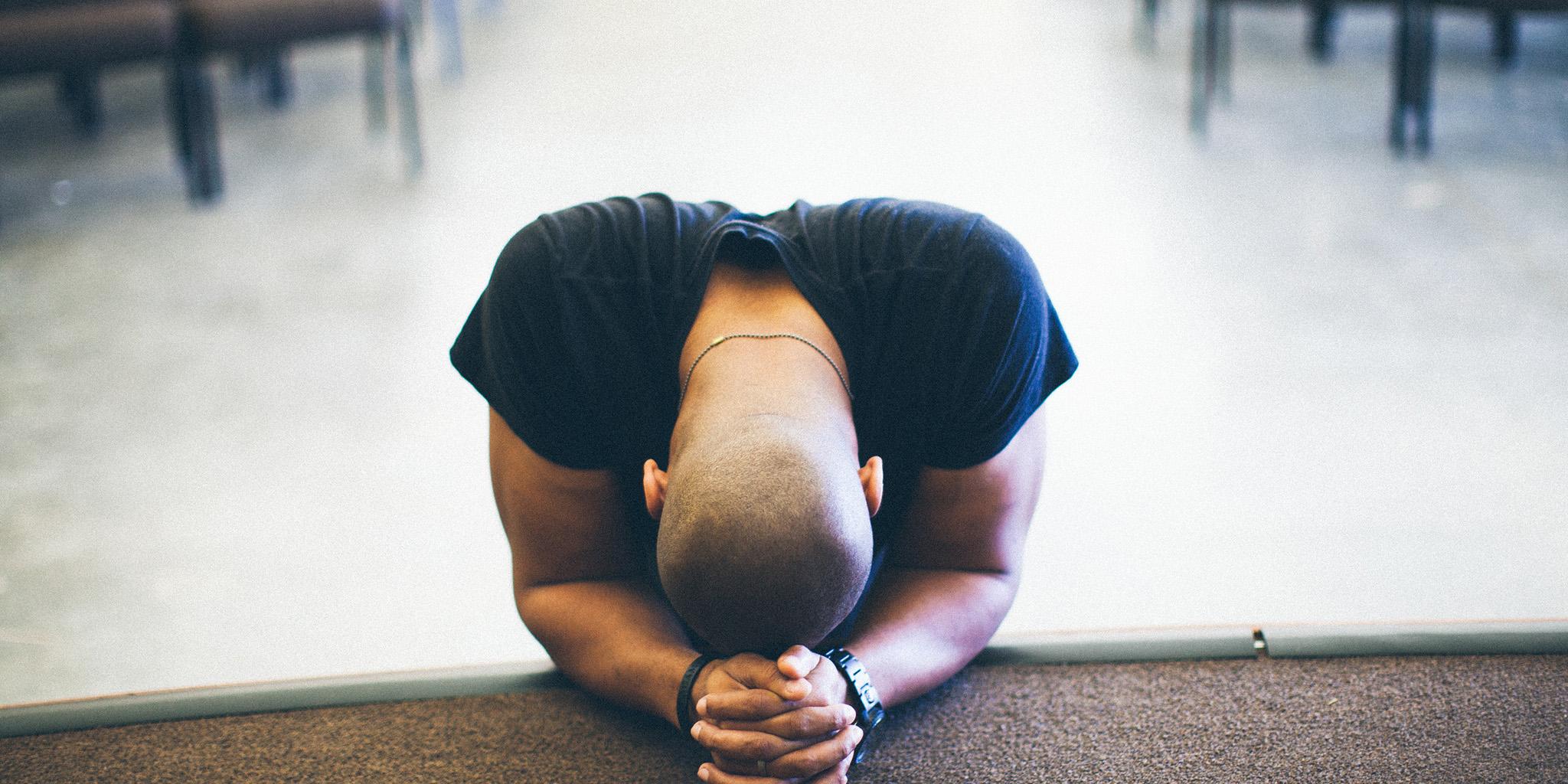 Image result for BALD MAN  PRAYING TO GOD