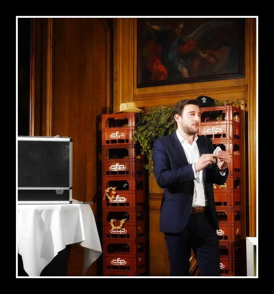Tom Le Magicien - Hermitage Gantois