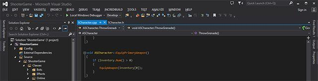 Getting started with unreal engine 4 unreal engine 4 requires visual studio 2013 or xcode on mac the community edition is free for students and teams of 5 or smaller malvernweather Image collections