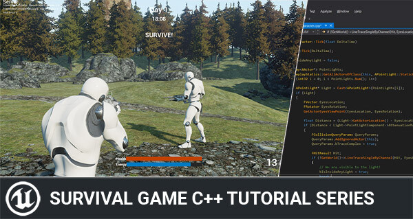 Unreal Engine 4 C++ Multiplayer Survival Game