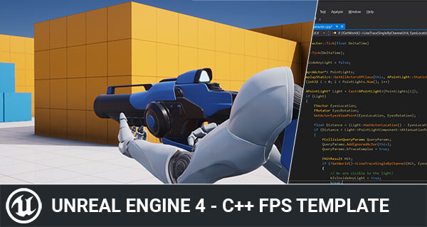 Simple C++ FPS Template for Unreal Engine 4