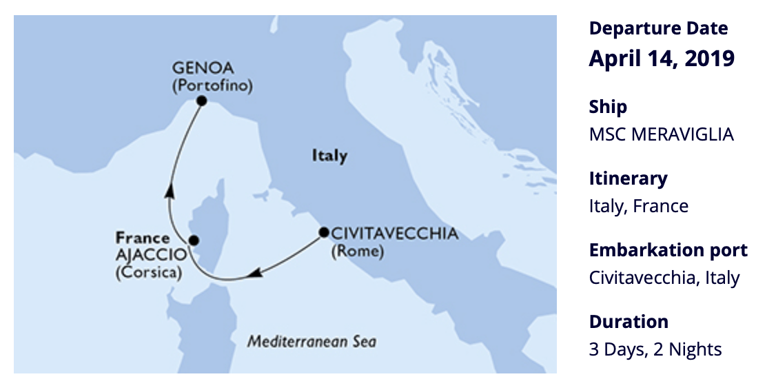 REVIEW: MSC Meraviglia – one cruise, two stories  – Tom