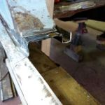 Top sill removed B post