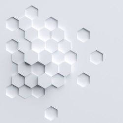Abstract graphene structure