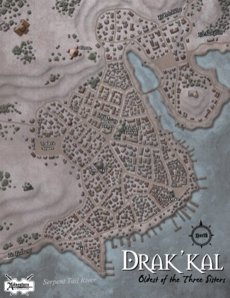 "For Adventure a Week ""Disaster in Drak´kal"" (c) AAW Games LLC"