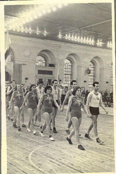 Soviet Mens and Womens basketball team