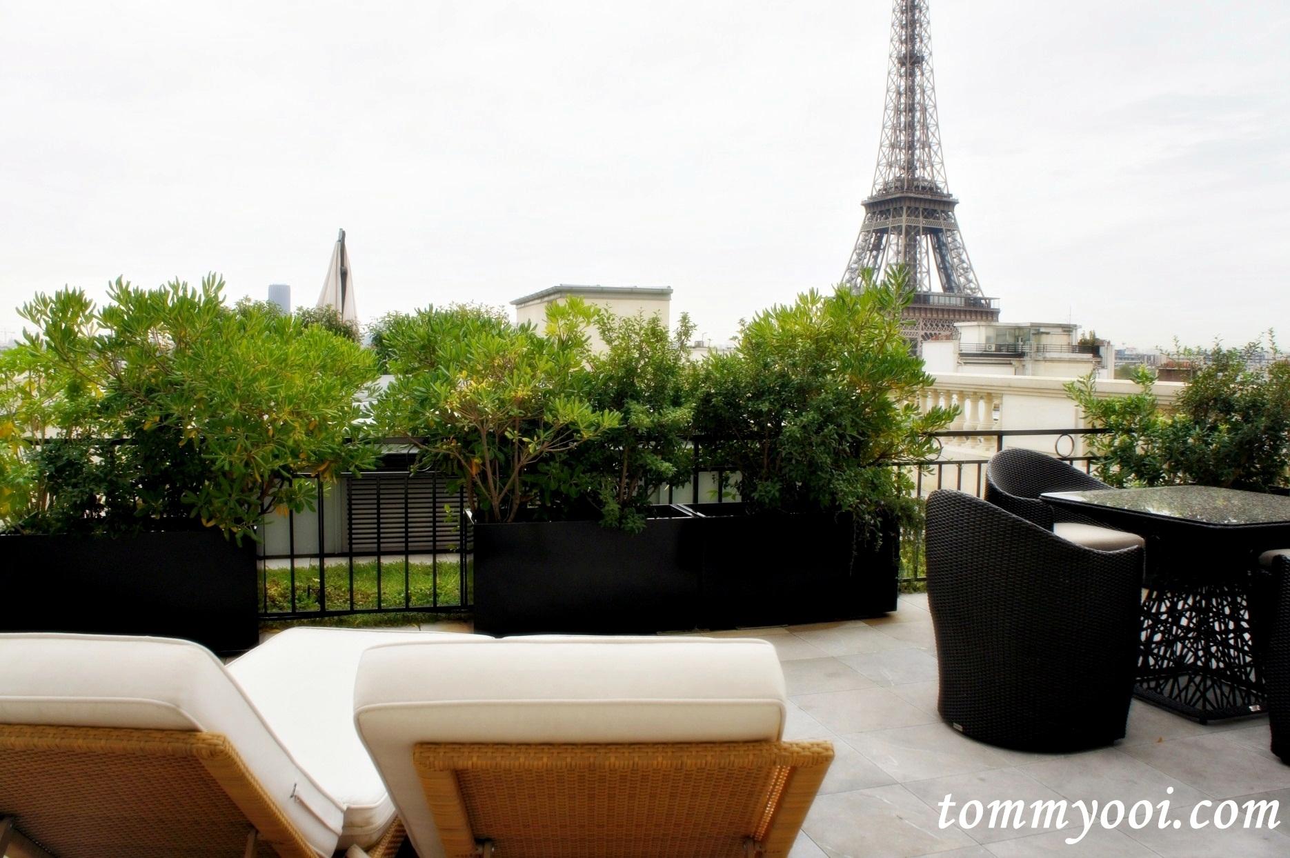 La Suite Shangri la Terrace