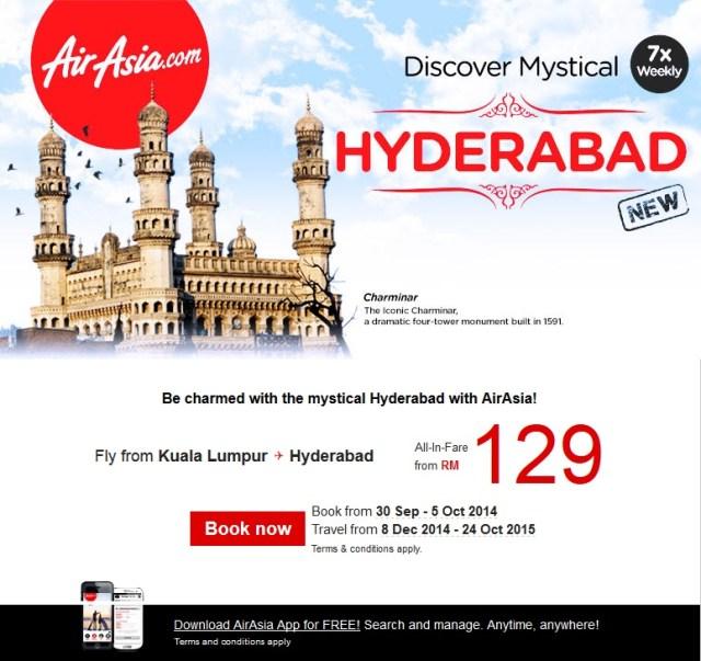 AirAsia Hyderabad