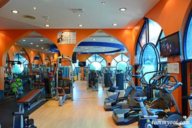 Le Meridien Abu Dhabi Gym