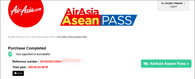 Airasia Asean Pass 7