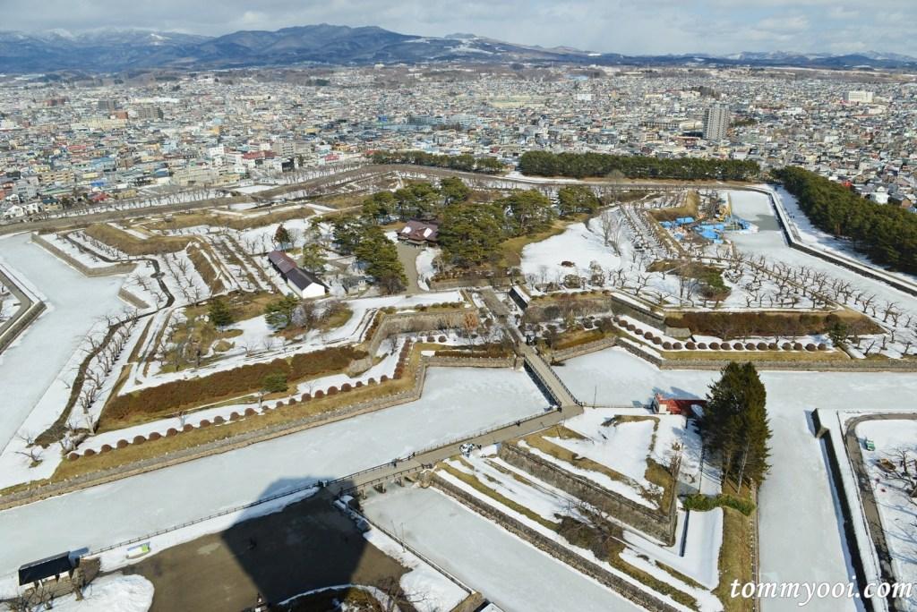 Fort Goryokaku, Hakodate