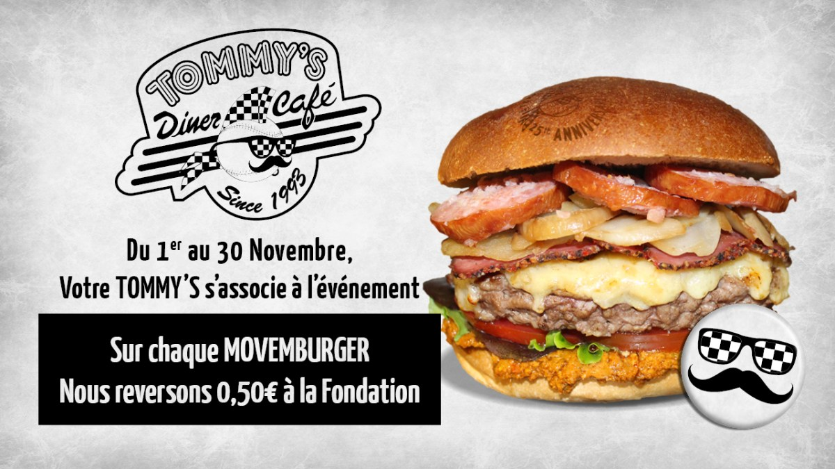 Fondation Movember X Tommy's Diner