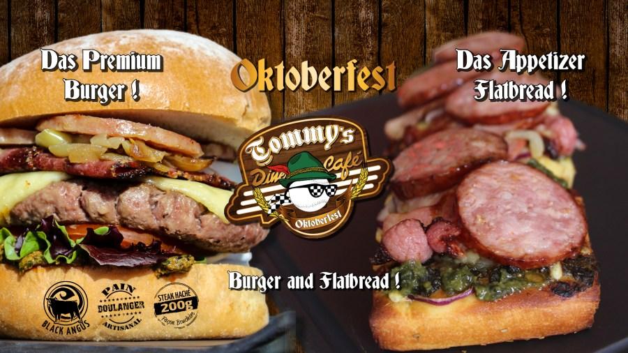 La nouvelle carte OKTOBERFEST débarque au Tommy's !