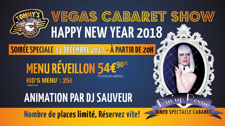 HAPPY NEW YEAR 2018 – Vegas Cabaret Show