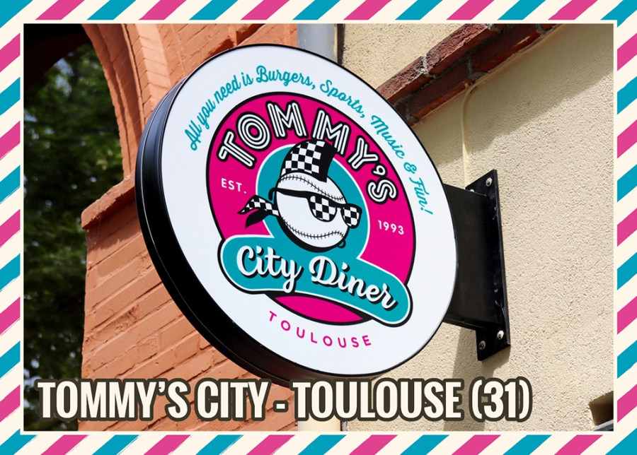 OPENING : Tommy's City Diner Toulouse.