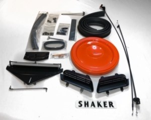 1970-71 Plymouth 'Cuda and Dodge Challenger 383 Shaker Kit With Air Filter